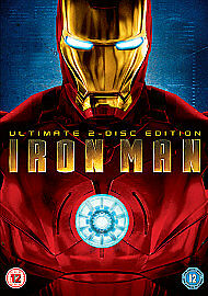 Iron Man - 2 Disc Ultimate Edition (DVD, 2008) R2 146/10
