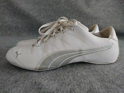 PUMA WHITESILVER MODERN Soleil lace up fashion sneakers