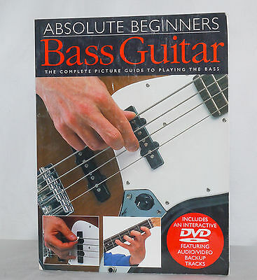 Absolute Beginners Bass Guitar with interactive DVD Amsco Publications