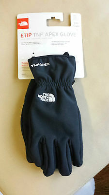 New North Face Womens Etip TNF Apex Glove- TNF Black NWT Size XS-L MSRP: $55.00