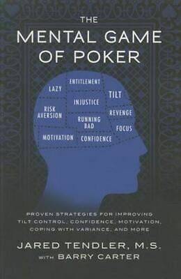 NEW The Mental Game of Poker By Jared Tendler Paperback Free Shipping
