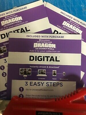 How To Train Your Dragon 3 Canadian Redeem Code