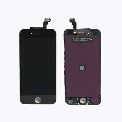 """OEM LCD Display Touch Screen Digitizer Frame Replacement for iPhone 6 4.7"""" Black"""