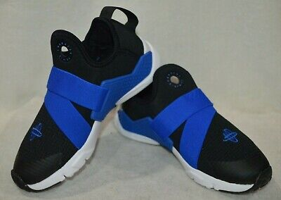 new arrival 5be19 c3b9a Nike Huarache Extreme (PS) Black Blue Boy s Sneakers-Asst Sizes NWOB AH7826