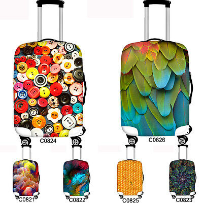 """Elastic Luggage Suitcase Cover Protector Anti Scratch Case Protective 18"""" - 30"""""""