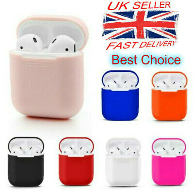 Wireless Headphones Bluetooth Airpods Earphones Silicone Case Cover