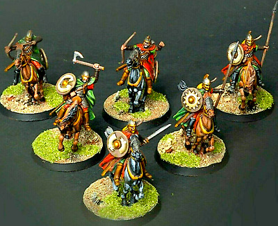 6 RIDERS of ROHAN=HORSES+Weapons Games Workshop GW Middle-Earth Strategy Battles