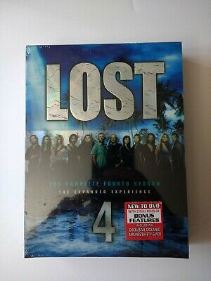 Lost - The Complete Fourth Season 4 (DVD, 2008, 6-Disc Set) New Factory Sealed