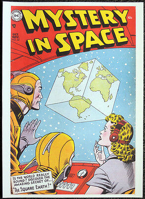 Mystery In Space Repro Poster Issue #22 Murphy Anderson 1954 Cover Dc Comics D22
