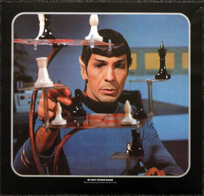 Star Trek Poster Page . By Any Other Name . Mr Spock Tridimensional Chess