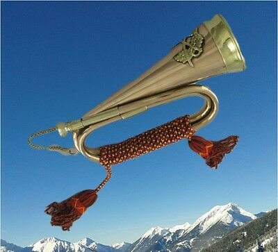 Trumpet Horn Cord Party Gag Football Brass Instruments Vintage Gift