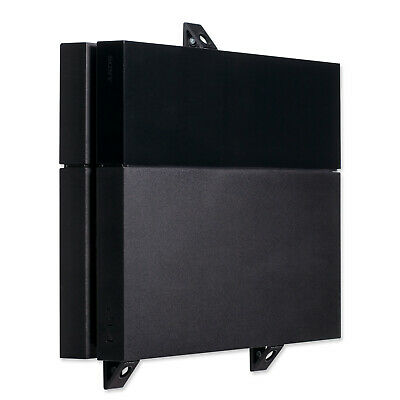 Wall Mount for PlayStation 4 PS4 Original Game Console, PS4 Wall Bracket, Black