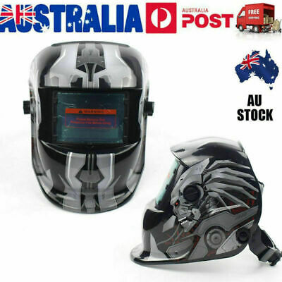 Pro Solar Powered Auto Darkening Welding Helmet Arc Mask Shield AU VIC Stock