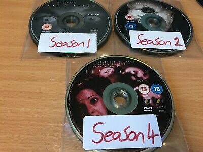 The X-Files - Season 1, 2 and 4 - Complete (DVD, 3-Disc Set) DISC ONLY
