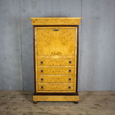 Beautiful Antique French Chest Of Drawers/escritoire, Walnut