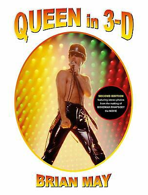 Queen in 3-D: Updated Edition(3d Stereoscopic Book)9781999667429 New