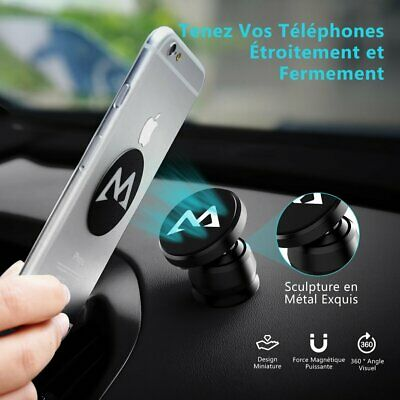 MPOW Mobile Phone Holder Dashboard GPS Mount Universal 360 In Car Dash Magnetic