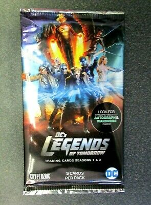 3 insert sets 99 total FOIL Cryptozoic Legends of Tomorrow base 1-72