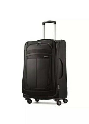 """NEW American Tourister 28"""" DeLite 3 Spinner Suitcase/Black-Official Suitcase of"""