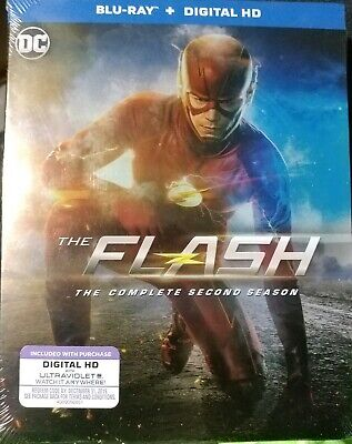 The Flash: The Complete Second Season (Blu-ray  4-Disc Set, Includes digital