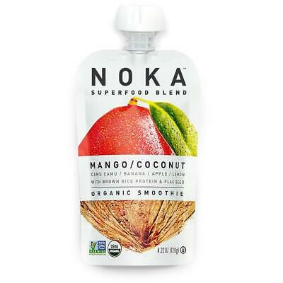 NOKA Organic Superfood Blend - Mango Coconut (12 Pack) (RO)