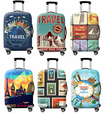 "Trolley Case 18""-32"" Protective Cover Bag Thicker Travel Dust Luggage Protector"