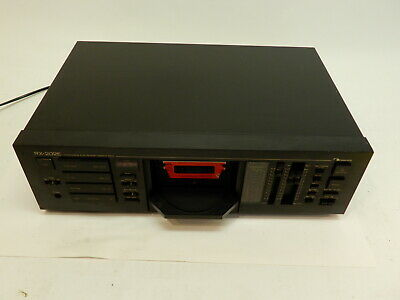 Nakamichi RX-202E Tape Deck, working but sold AS IS, see item description, video