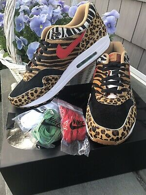 quality design a6bea 0c23c Nike Atmos x Air Max 1 DLX  Animal Pack  2018 AQ0928-700 US