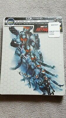 ANT-MAN AND THE WASP Blu-ray + 4K ULTRA HD BEST BUY EXCLUSIVE STEELBOOK [USA]