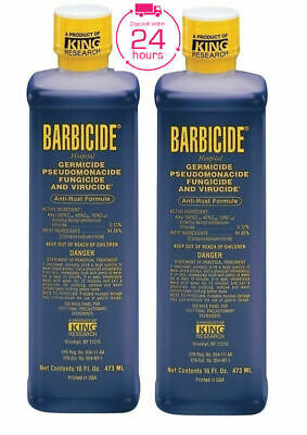 Barbicide Disinfectant Concentrate Solution Germicide Anti-Rust Formula - 473ml