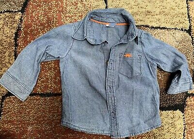 Carters baby boy Shirt Size 12 months