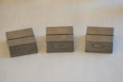 Oakley Metal Display Card Stands Lot of 3 Vintage Rare X-Metal Sunglass