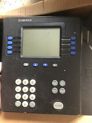 Kronos System 4500 Digital Time Clock System Office Business & Industrial