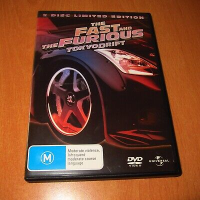 The Fast And The Furious - Tokyo Drift ( 2 Disc Limited Edition Dvd Region 4 )