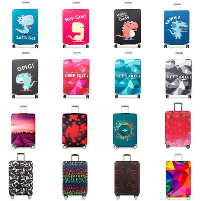 """Anti-scratch Luggage Suitcase Dust Cover Protective Elastic Protector 18"""" - 32"""""""