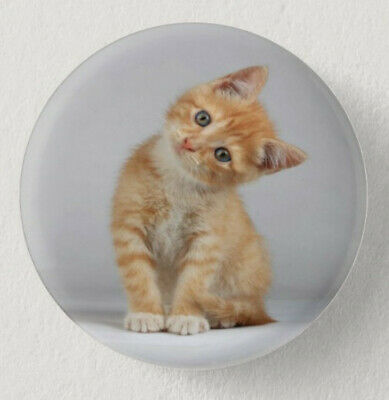 Pin Button Badge Ø38mm  CHAT #3