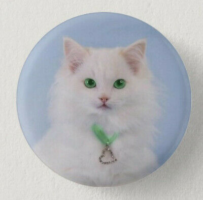Pin Button Badge Ø38mm  CHAT #4