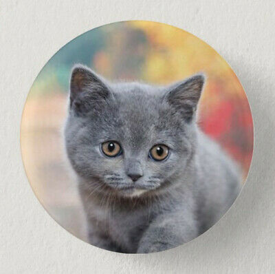 Pin Button Badge Ø38mm  CHAT #6