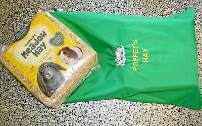 RABBIT hay or straw waterproof storage bag with personalised embroidery HB01