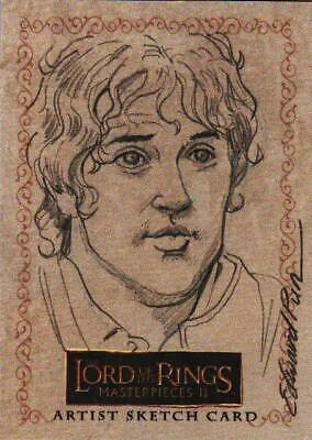 Lord of the Rings LOTR Masterpieces II sketch Pun Sam