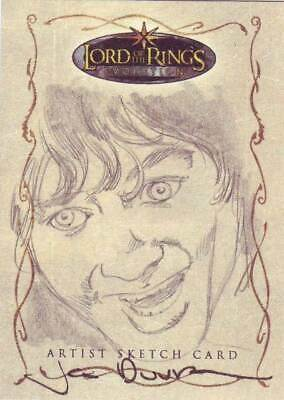 Lord of the Rings LOTR Evolution sketch Duursema Frodo