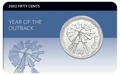 Australia 2002 50c Year of the Outback Uncirculated Coin