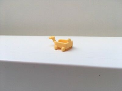 Vintage Polly Pocket Lil Pet Carts Spare Replacement Yellow Cart From 1993 - Vgc