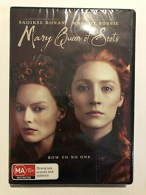 Mary Queen of Scots DVD 2019 Brand New & Sealed Region 4 Rated MA15+ Movie 🍿