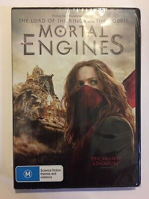 Mortal Engines Brand New & Sealed DVD Region 4 Movie 🍿 Rated M 2019 Action