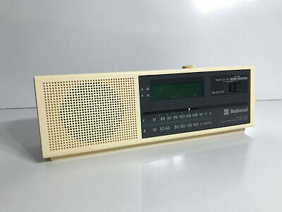 PANASONIC AM/FM Table Radio - Vintage Retro - Works & Looks AWESOME! c1970s