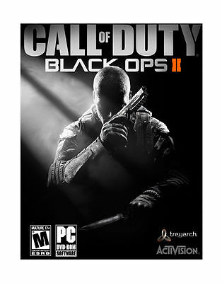 Call of Duty Black Ops II 2 - PC Game - DVD- 17+