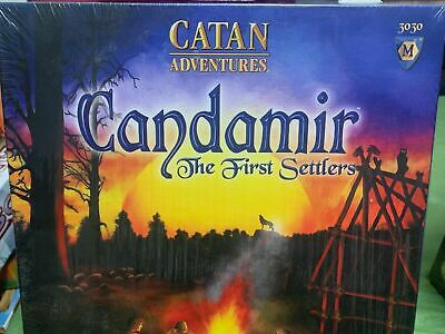 Catan Adventures Candamir the First Settlers Board Game - NEW SEALED