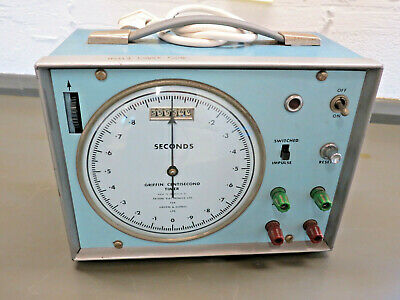 * Centisecond Timer - By Griffin & George - Vintage in Great Condition