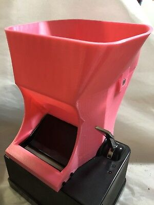 """""""FOR"""" Powermatic 2 & 2+ Cigarette Rolling Machine Pink *HOPPER ONLY* Shorty"""